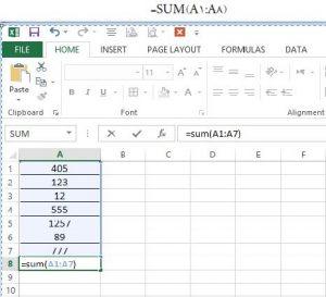 اصول استفاده از توابع در Excel